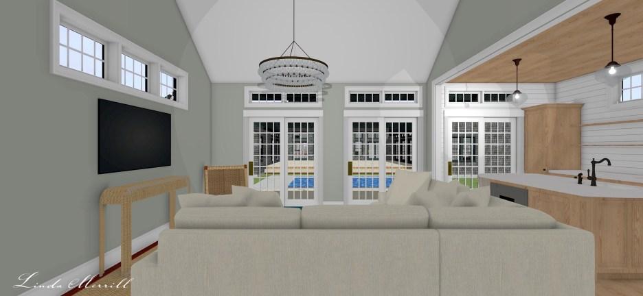Linda Merrill Pool House 4 Dream Home 2021