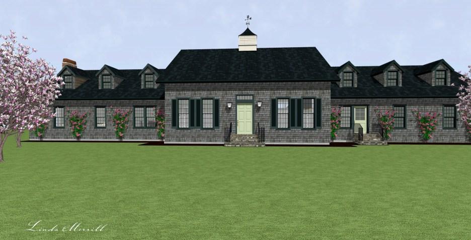 Linda Merrill Dream Home 2021 Front Exterior