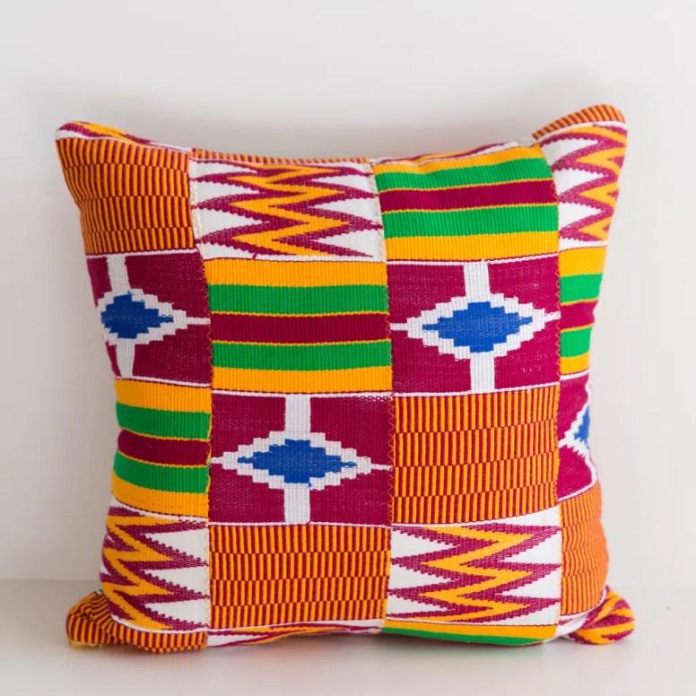 Asante Odyssey Artisans pillow