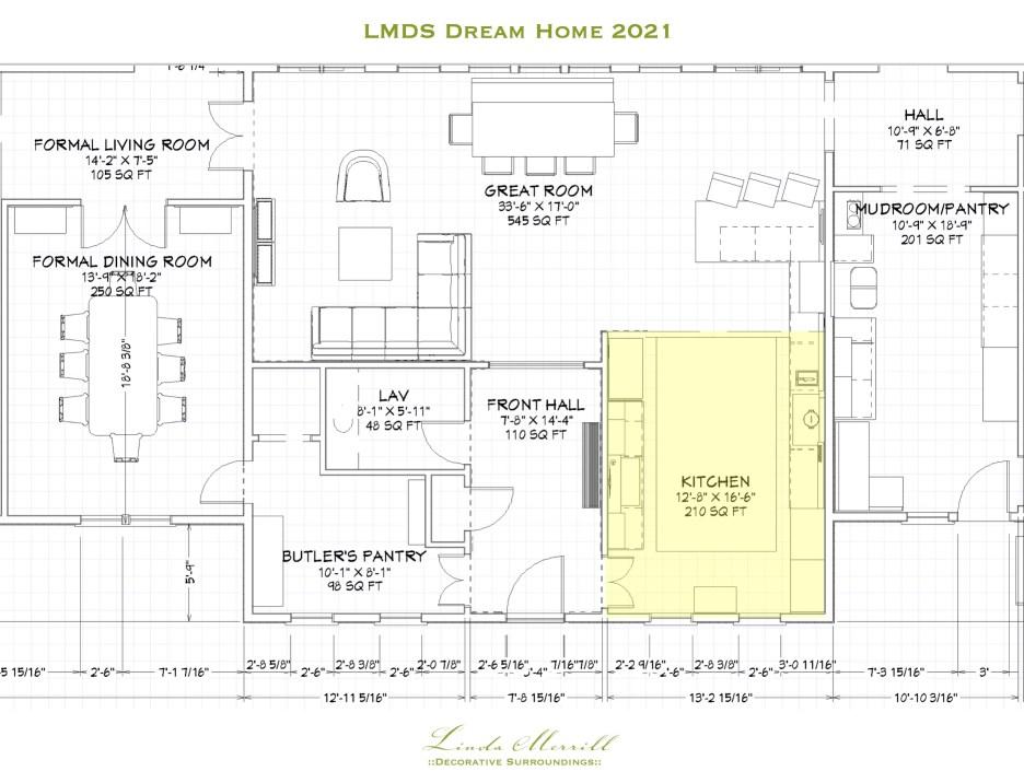 LMDS Dream Home floorplan center house