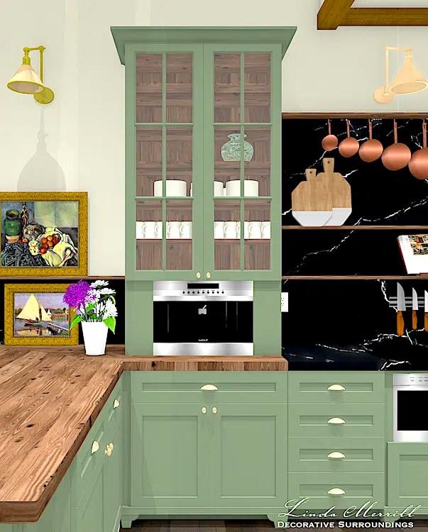 081021 LMDS Dream Home Dream Kitchen coffee station