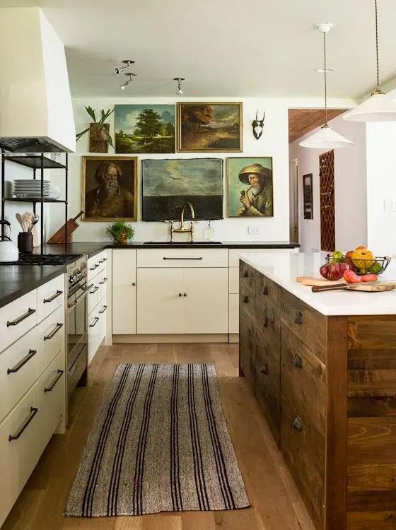 Lauren Liess & Co. Interior Design soulful kitchen
