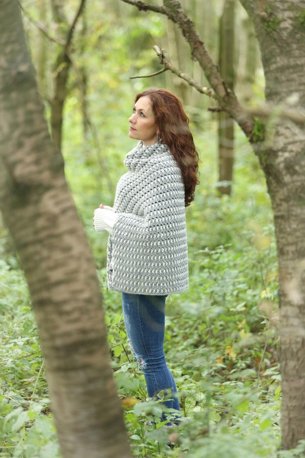 Warme Winter Wrap Linda Modderman Design Gratis Haakpatroon