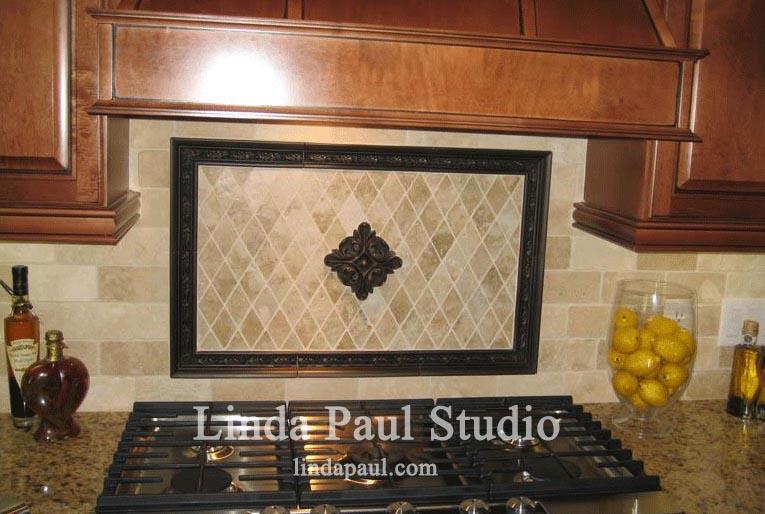 Mosaic Kitchen Backsplash Tile Medallions And Accents