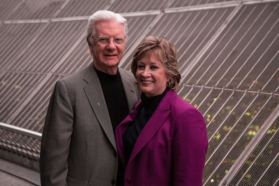 Bob Proctor with friendly, Wife Linda Proctor