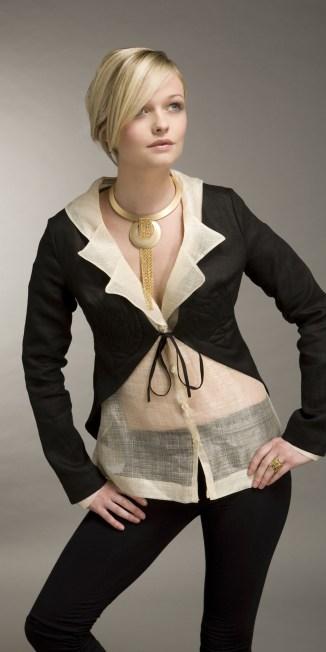 Pina cloth and organic linen