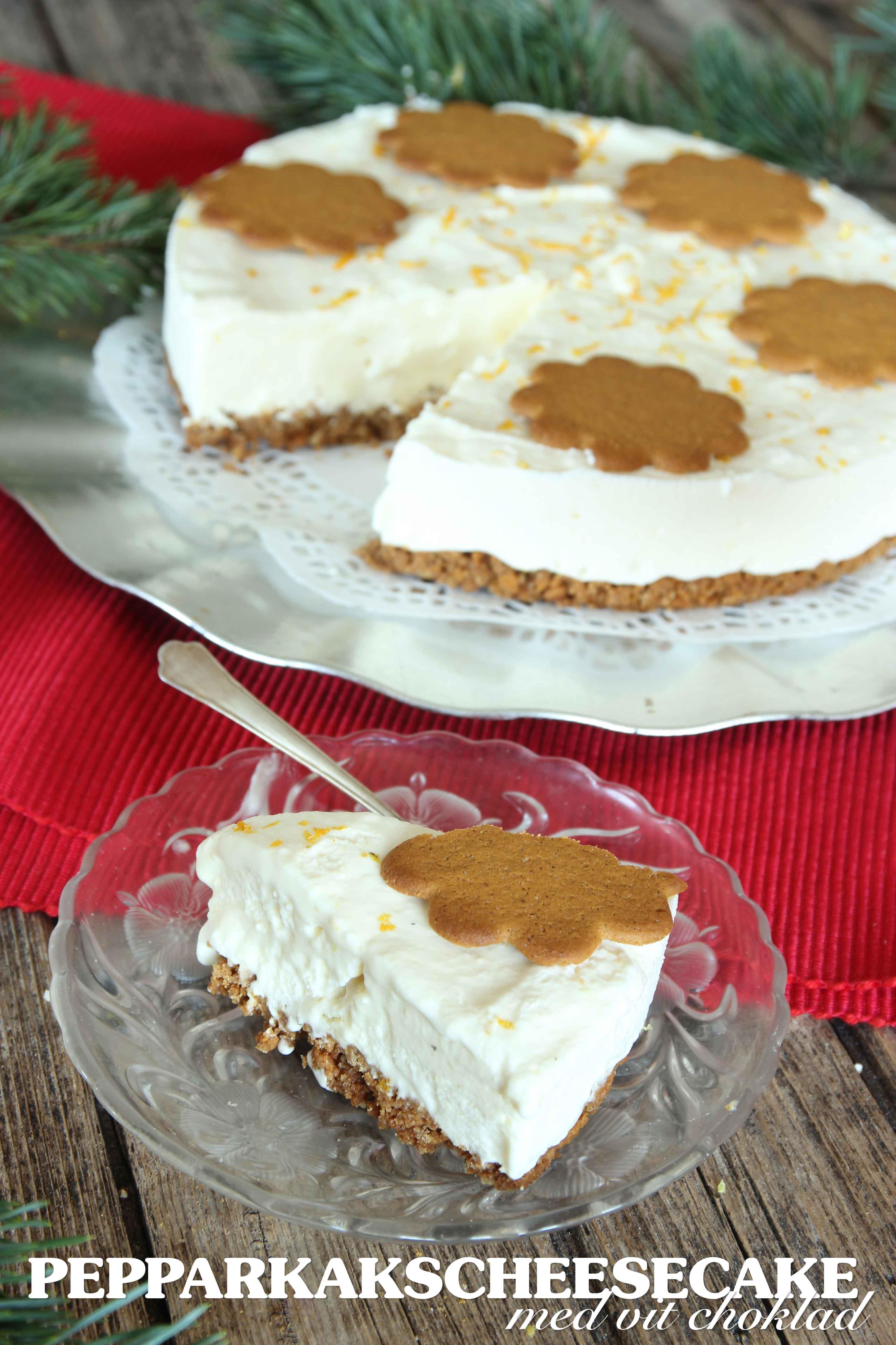 cheesecake vit choklad philadelphiaost