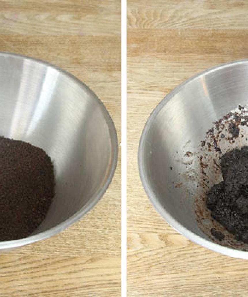 1. Smula ner jästen i en bunke och lös upp den med mjölken. Tillsätt salt, smör, sirap, rågsikt och vetemjöl, lite i taget. Blanda ihop allt till en smidig deg och knåda den kraftigt i några minuter. Låt degen jäsa under bakduk i 45–60 min.