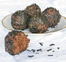 Ljuvligt goda, läckra salmiakbollar – klicka här för recept!