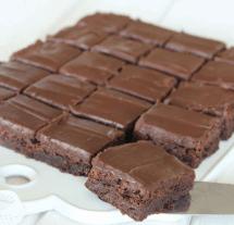 Baka underbart goda fudge brownies – klicka här för recept!