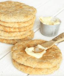 Bakpulver-grahamstekakor som är klara på 15 min! Klicka här för recept!