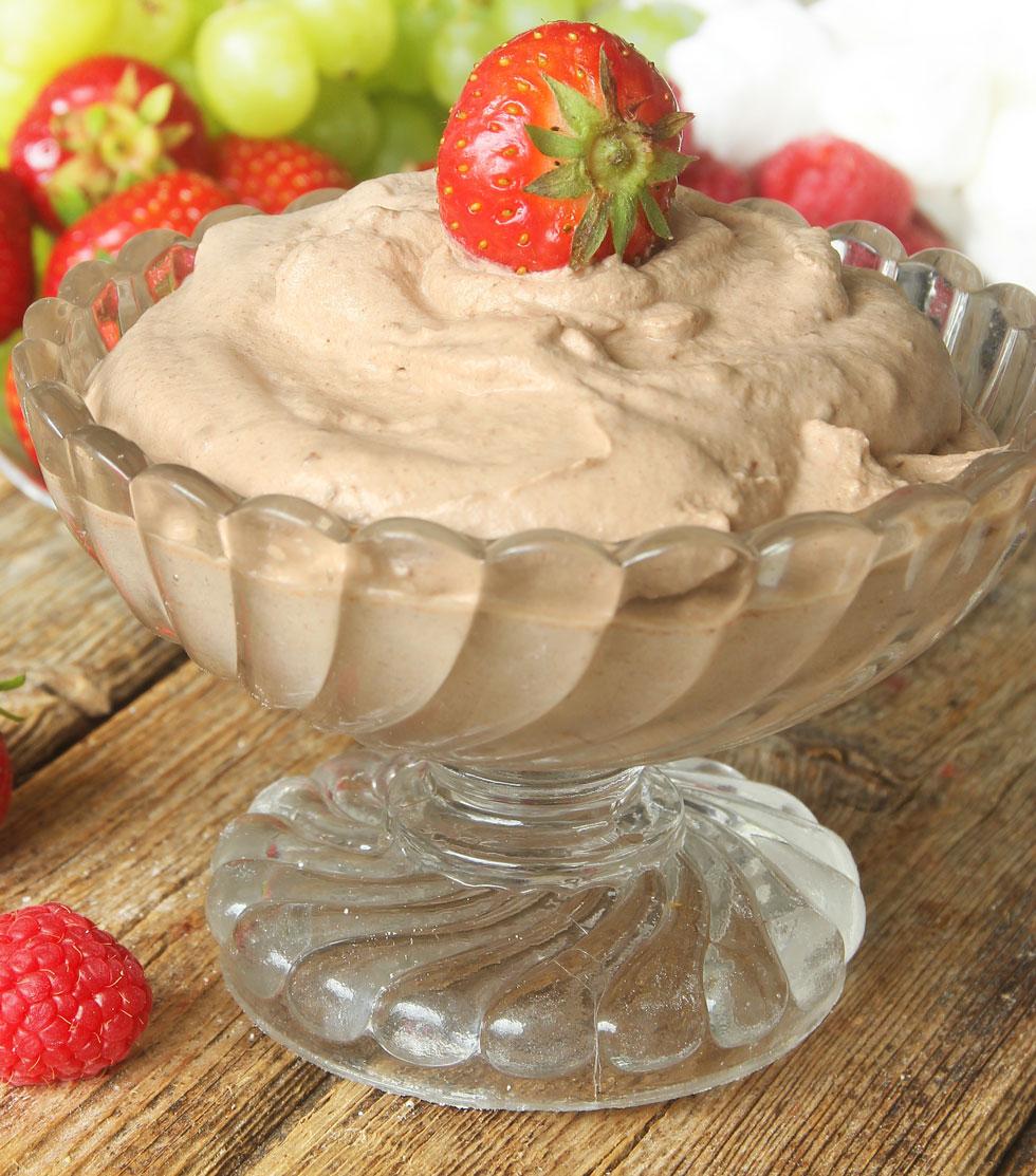 choklad grädde recept