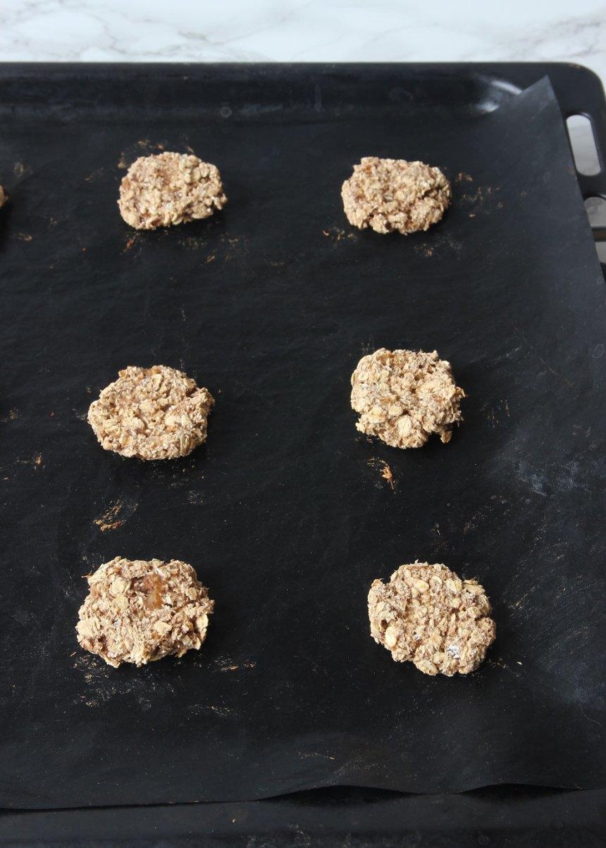 4. Grädda kakorna mitt i ugnen i ca 15 min.