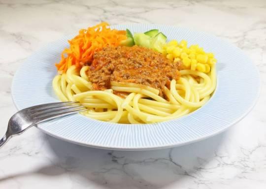 Spagetti & köttfärssås – en av de populäraste rätterna i Sverige! Klicka på bilden för recept!