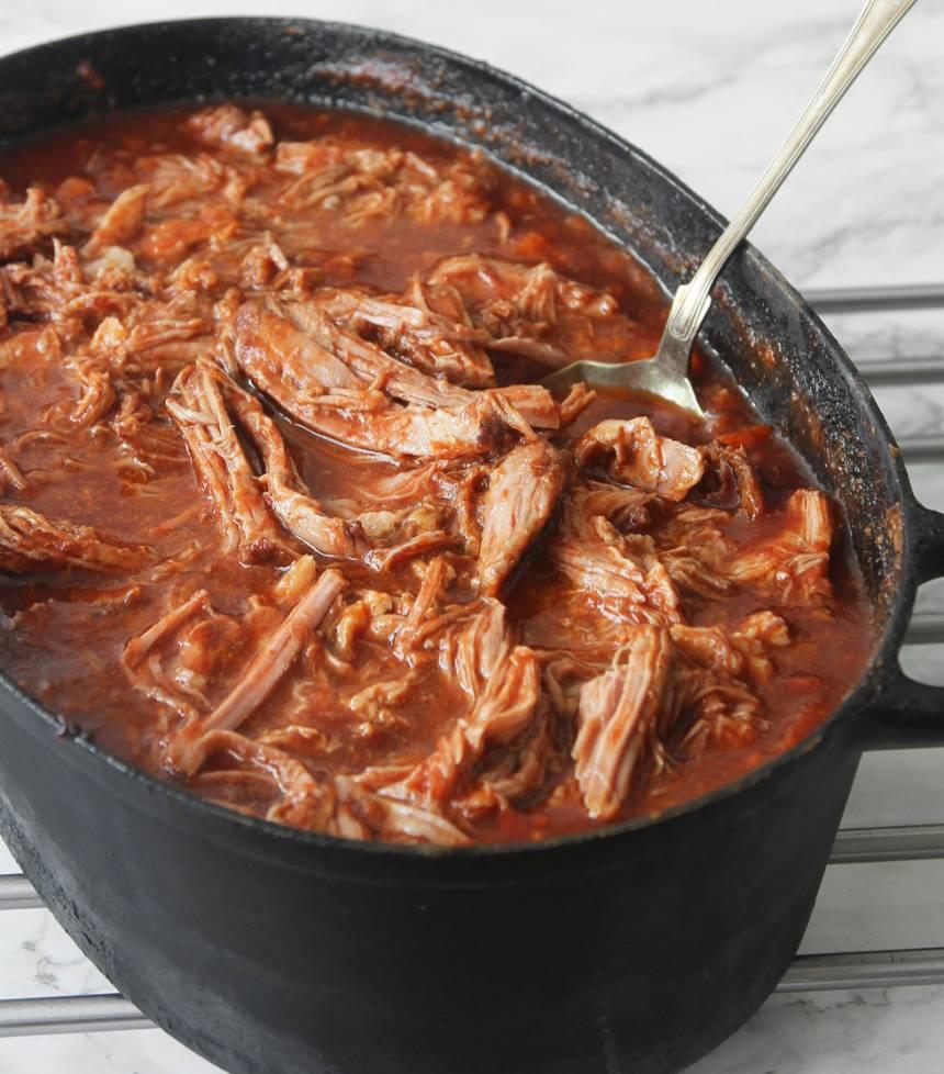 Pulled pork gryta –klicka på bilden för recept!