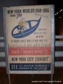 World's Fair sign. Their vision of the future!