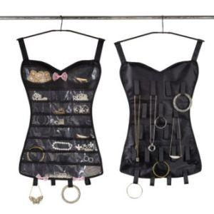 little black corset jewlry organicer umbra woweffekt