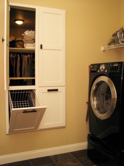 fra vaskerom rett til garderobe