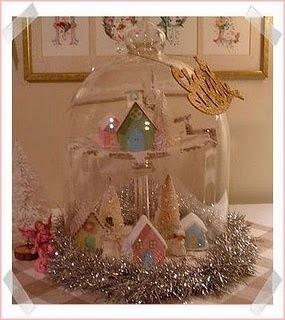 Julepynt pastell og sølv