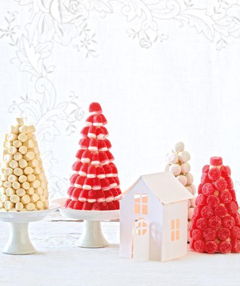 juletre av godteri