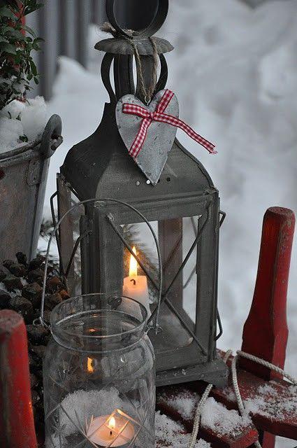 julelykt utendørs sink