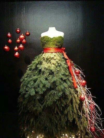julepynt julegrener kjole