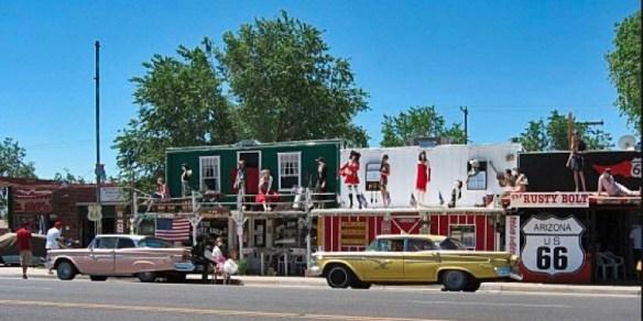Route 66 mot Las Vegas