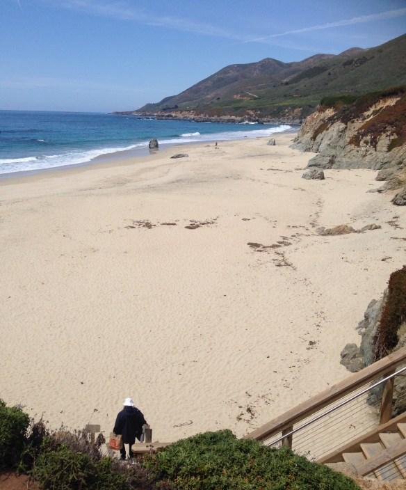 Strand på vei mot LA 4