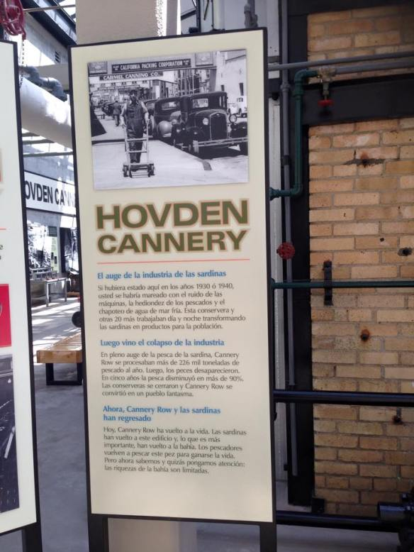 hovden cannery infotavle
