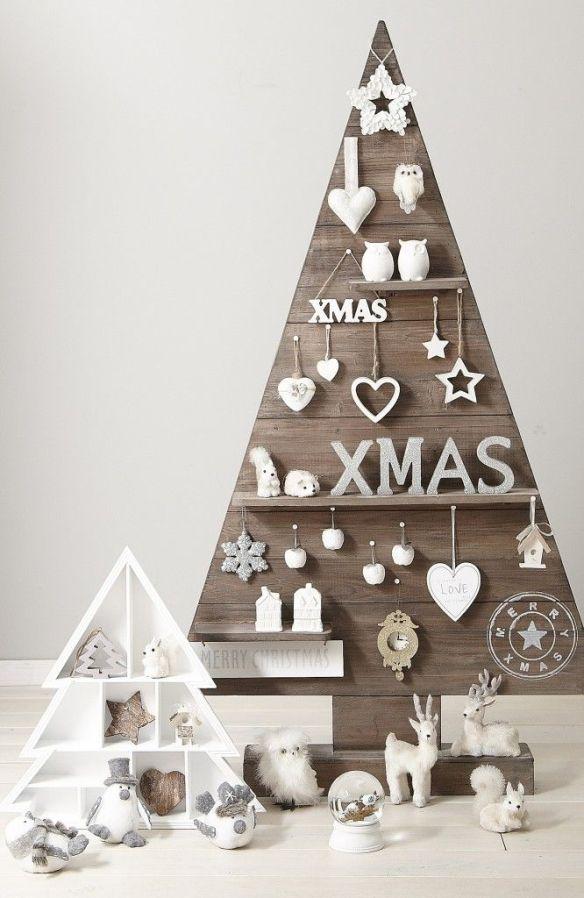 juletre i tre