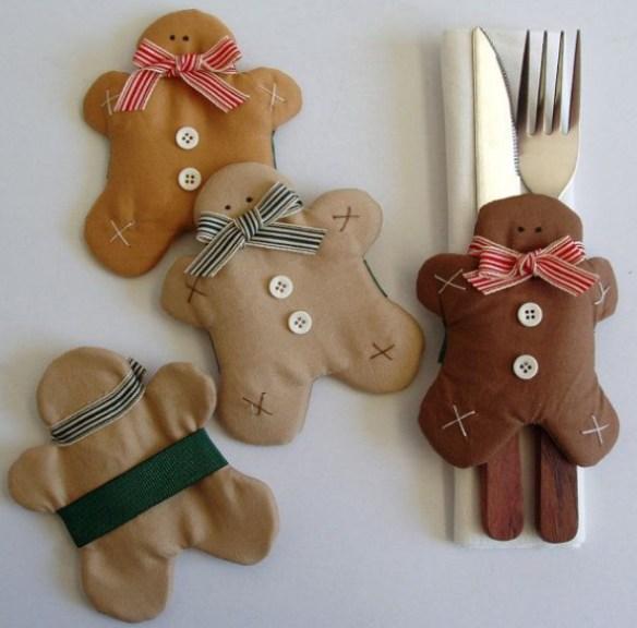 pynt til jule bordet pepperkake sy selv