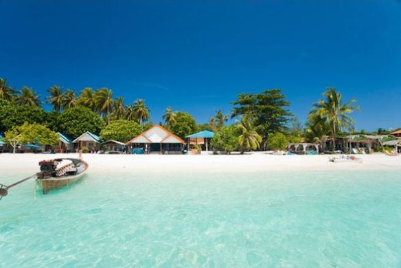 Koh Lipe Pattaya Beach tatt fra stranden
