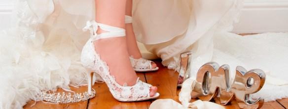 brude sko bryllup