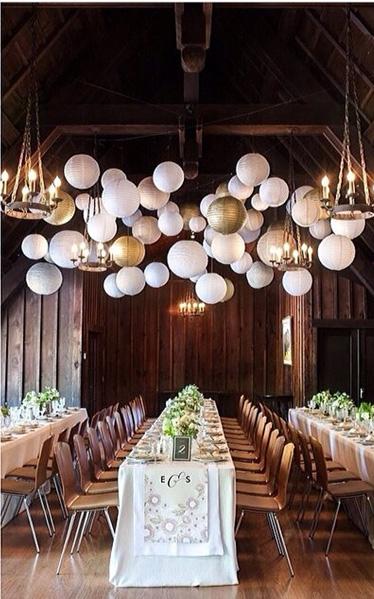 papirlanterner selskap og bryllup