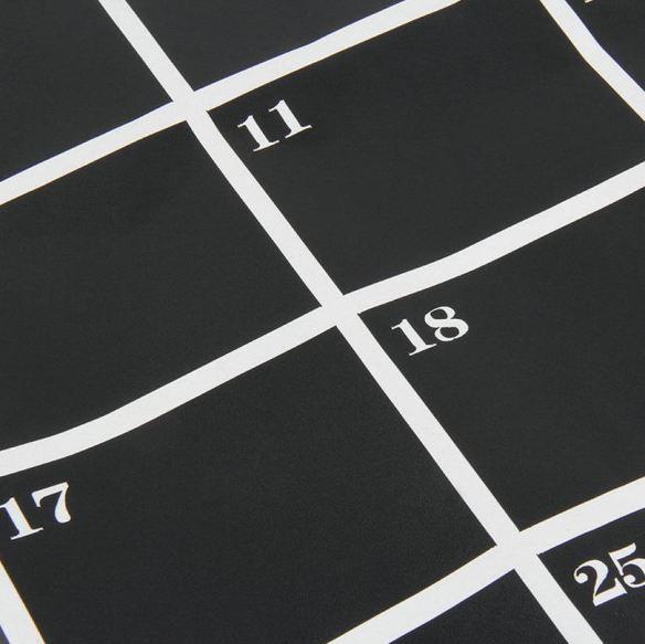 Tavle Wallstickers måned kalender woweffekt datoer