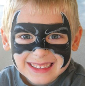 halloween-sminke-gutt-batman