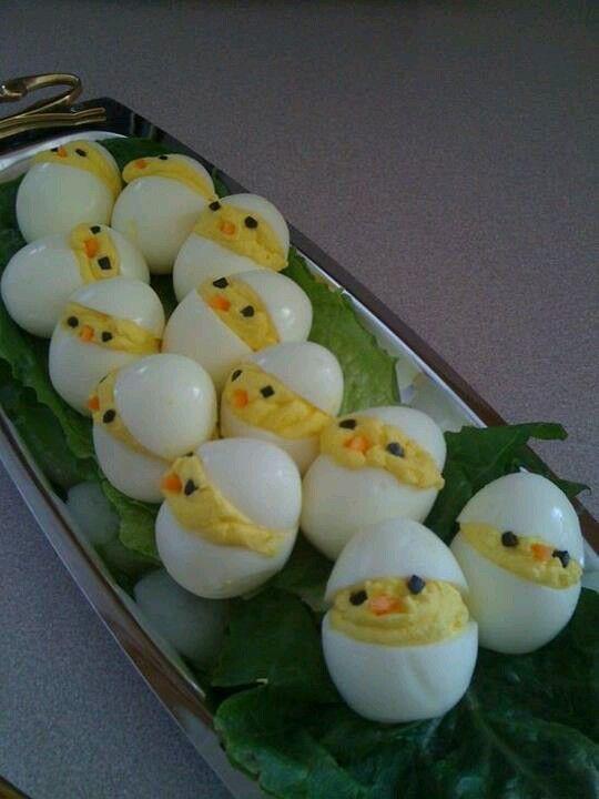 Søte egg kyllinger