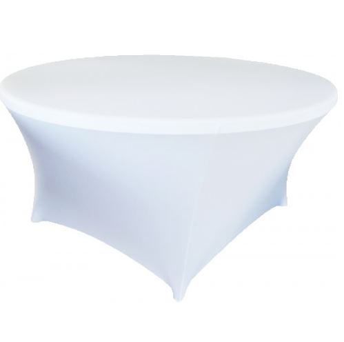 Bordtrekk spandex rundt bord