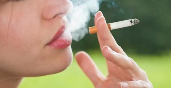 røyking av sigaretter
