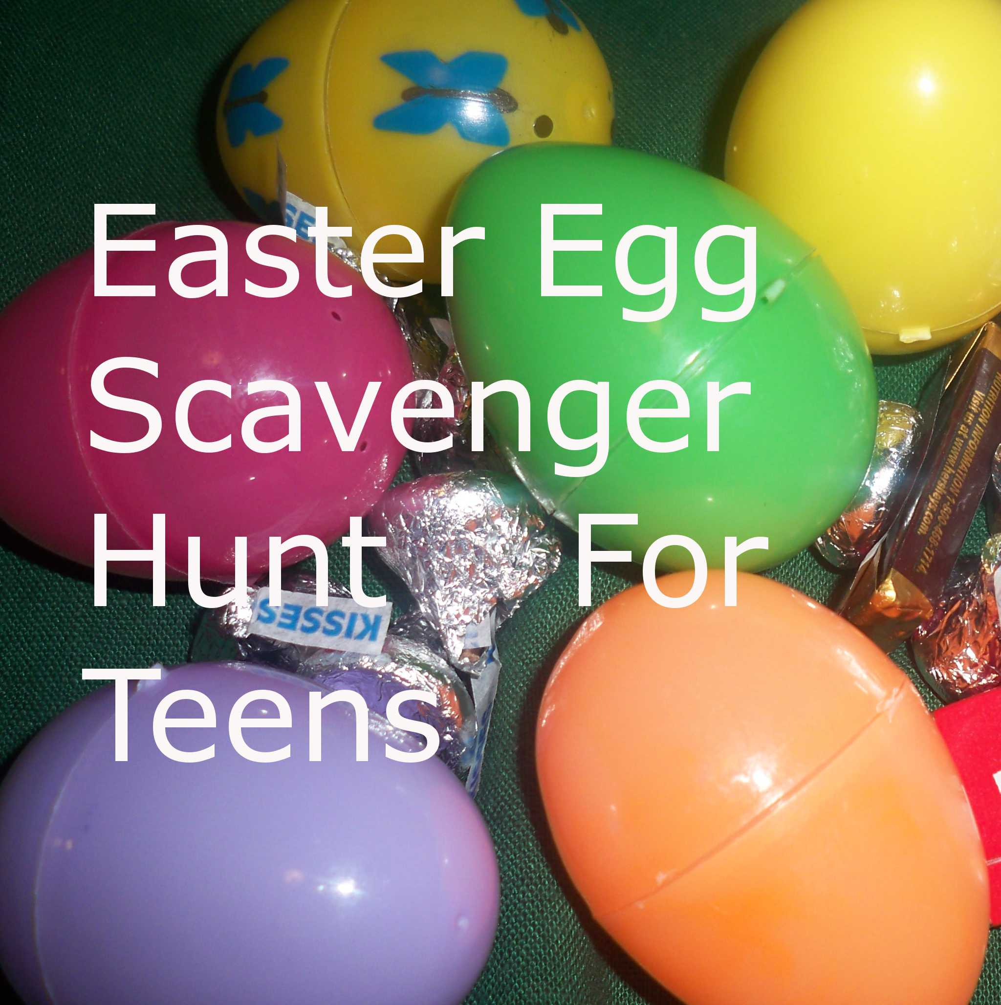Easter Egg Scavenger Hunt For Teenagers