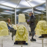 Butter carving at the Minnesota State Fair
