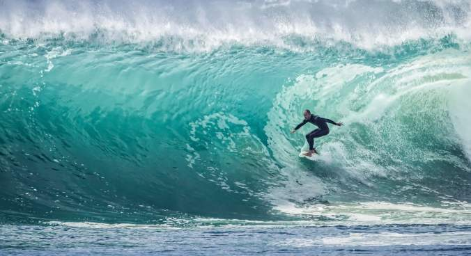 "Science is now proving what surfers have known all along. ""When things get too much, ""Get some salt between your ears."" The water, and the 'flow' that comes with it, quite literally soothe the mind."