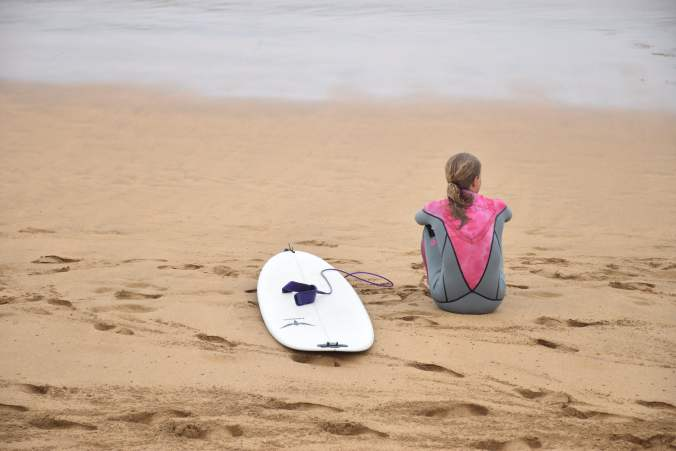 """Science is now proving what surfers have known all along. """"When things get too much, """"Get some salt between your ears."""" The water, and the 'flow' that comes with it, quite literally soothe the mind."""