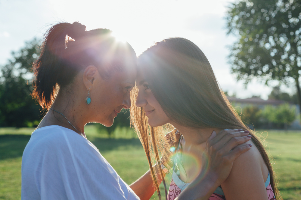 parent-teen connection. building resilience in children