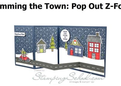 Trimming The Town: Pop Out Z Fold