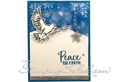 Dove of Hope: Peace On Earth Card