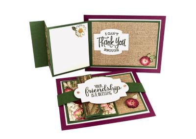 Landscape Triple Fold-Out Card