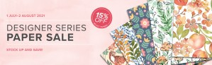 9 Designer Papers 15% off July 1st!