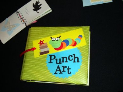 Awesome punch book album by LeeAnn Greff