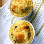 Brokoļu un siera mini fritatas
